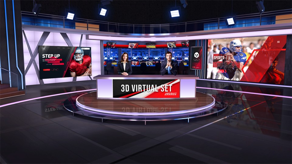 Virtual Studio 114 for TriCaster virtualsets